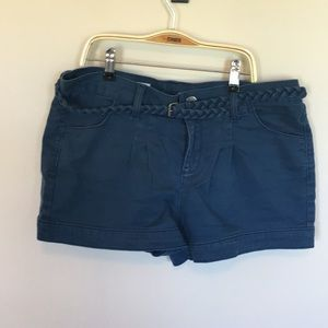 Gap Shorts with Braided Belt